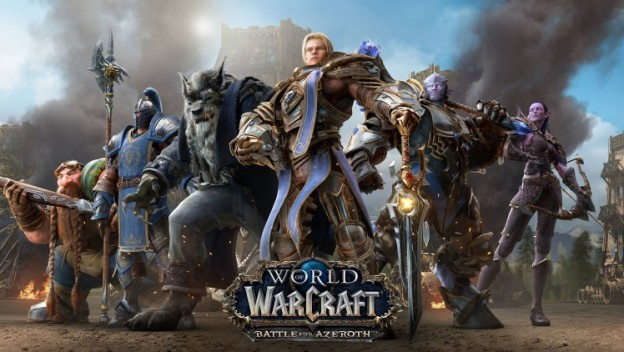 L'extension Battle For Azeroth de World Of Warcraft enfin dévoilée !