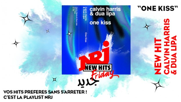 Calvin Harris et Dua Lipa: arrivent avec ''One Kiss'' dans le New Hits Friday