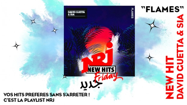David Guetta et Sia arrivent avec ''Flames'' sur le New Hits Friday