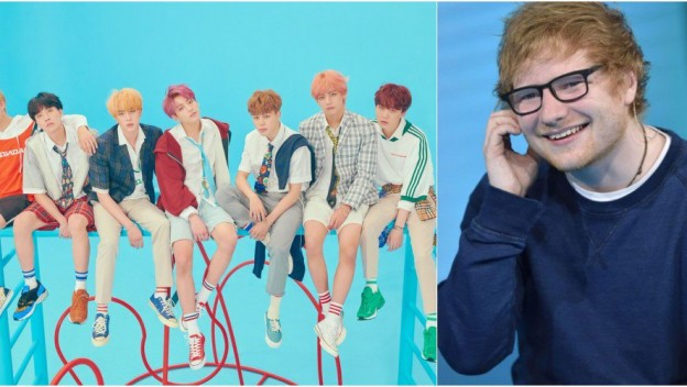 """Make It Right"" : Ed Sheeran s'invite sur le nouvel album de BTS !"